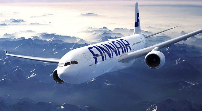 Finnair aereo 672  FIN Airbus A330