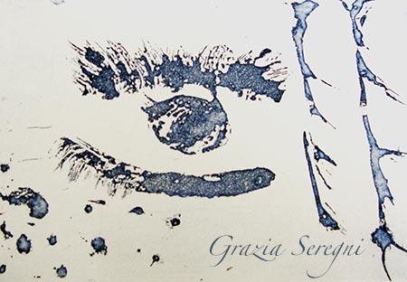 arte Grazia Firma 450 grande stampa occhio zucchero
