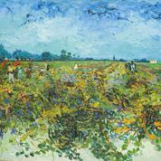 1506Vincent van GoghLa vigna verdeOlio su tela, cm 73,5 x 92,51888 VAN GOGH ARTE 5