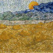 Vincent van GoghPaesaggio con covoni e luna che sorgeOlio su tela, cm 72 x 91,31889 VAN GOGH ARTE 4