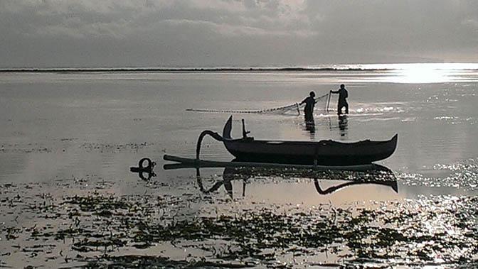 arte Grazia foto Bali 672 Panorama pesca arte alba reti