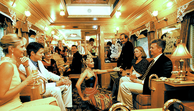 Treno 672 lusso trans Europe Express Company