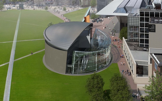 olanda New_entrance_of_Van_Gogh_Museum