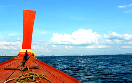 Tailandia mare 450 barca vacanza