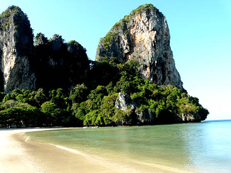 Tailandia spiaggia dirailay beach,i