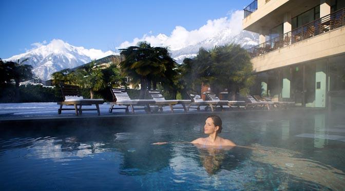 Terme e spa -Nuova Sky SPA dell'Hotel Terme Merano