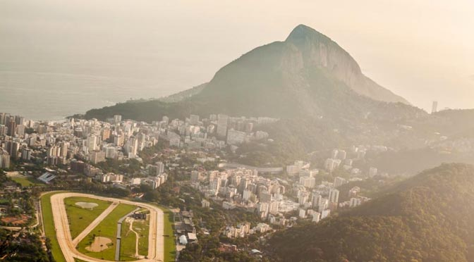Brasile 672 Rio de Janeiro montagna grigio