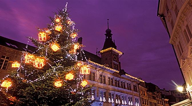 Svizzera Natale 672 lucerna luci albero natale