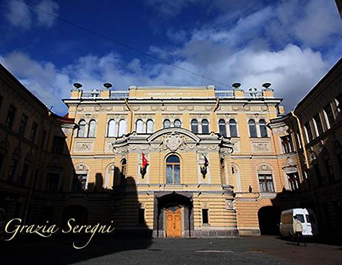 S Pietroburgo firmata 500 casa museo di Puskin