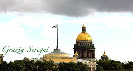 S Pietroburgo firmata ok cattedrale di Sant'Isacco