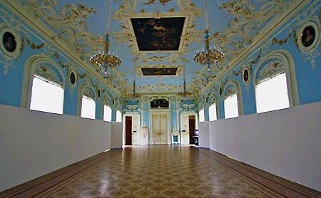 San Pietroburgo Ermitage salone azzurro