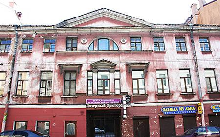 San Pietroburgo edificio non restaurato