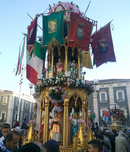 Catania 450 Immagini della Feta di Sant'Agata