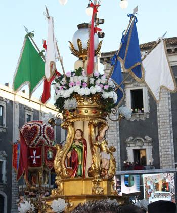 Catania sant'Agata Candelori hj