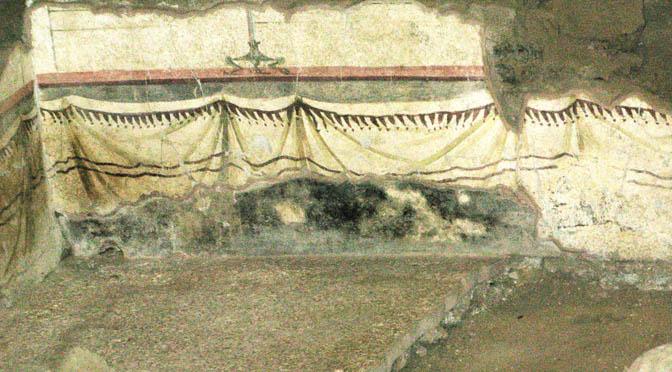 Archeologia Ok 672 Monastero Benedettini Catania resti villa romana