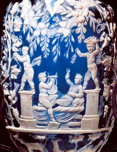 Mostra a pompei mito e natura dalla grecia a pompei for Vaso blu