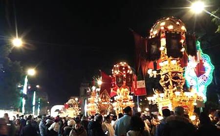 Catania 450 processione notte fg