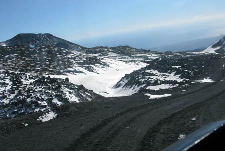 Catania Etna 450 panorama strada lava vulcano