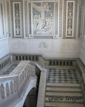 Catania Monastero Benedettini 300 scalinata