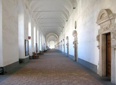 Catania Monastero Benedettini camere dei monaci