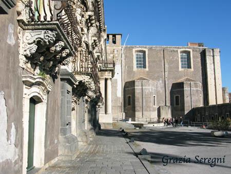 Catania Monastero Benedettini esterno 2
