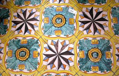 Catania Monastero benedettini ok 400 ceramica