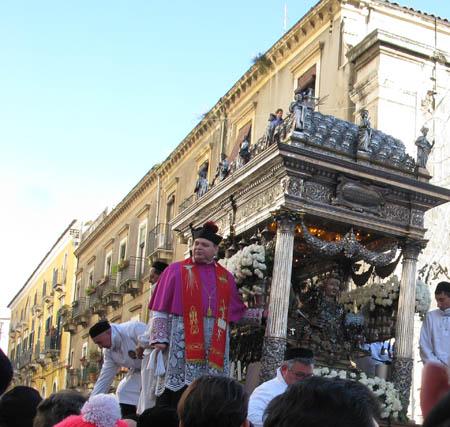 Catania sant agata vescovo
