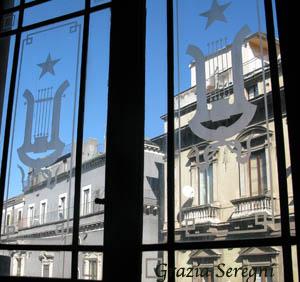 Catania teatro 300 firma vertrate Liberty antiche