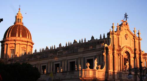 catania 500 Duomo tramonto h