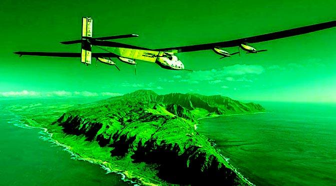 L'aereo solare Solar Impulse 2 ha attraversato il Pacifico – Andre Borschberg è il pilota che ha volato più a lungo per una singola tratta