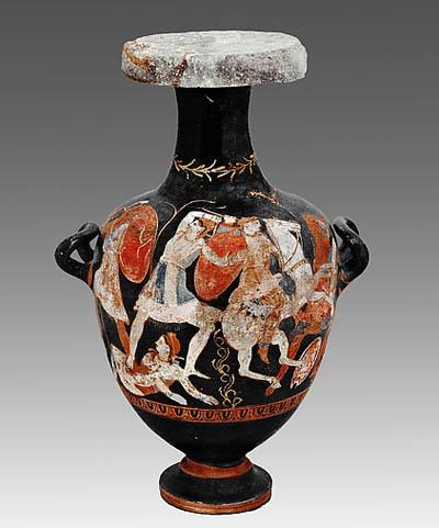 Arte al metropolitan di new york fasti del regno di for Vasi antichi romani