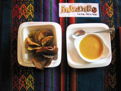 Ristorante peruviano antipasto piccolo