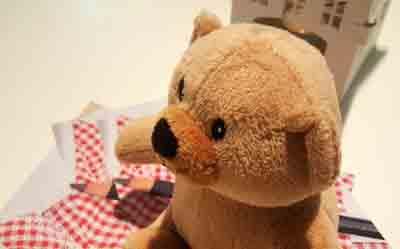 MODA Biancomangiare orsetto bambini