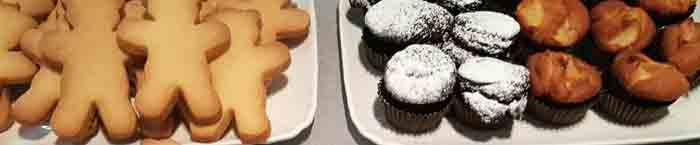 Moda Biancolatte cibo 600 biscotti dolci