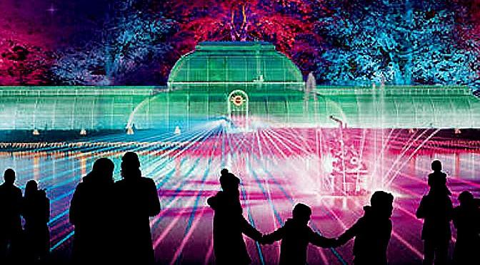 Londra – Da non perdere le luci dei Kew Gardens durante le festività natalizie