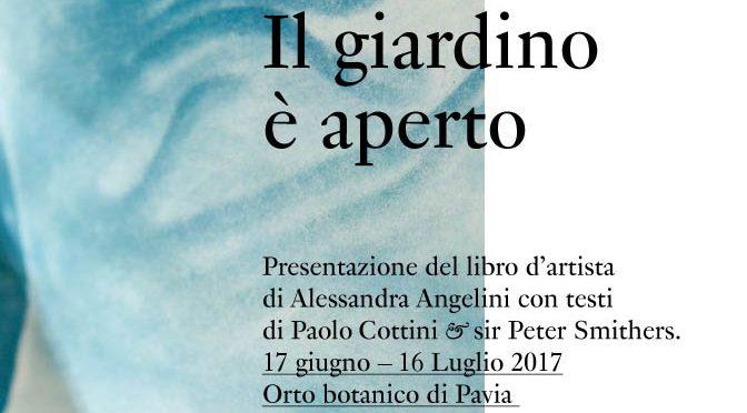 Arte a Pavia – Il giardino è aperto di Alessandra Angelini