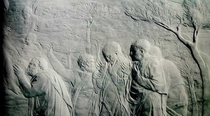 arte-donatello-672-ascensione-consegna-delle-chiavi-a-san-pietro-bassorilievo