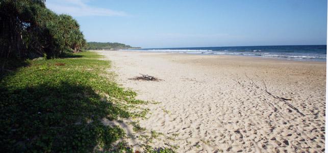 1 spiaggia a sud di Tangalle