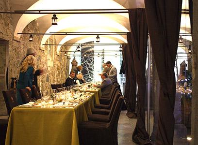 AA Lubiana ristorante sulla piazza del castello