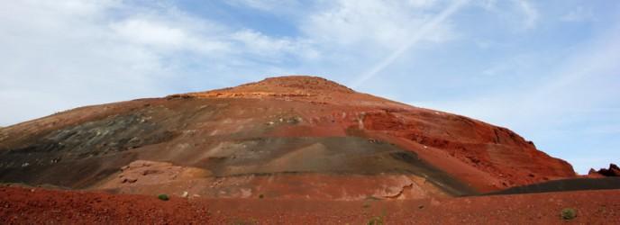 Lanzarote. Colori sui vulcani spenti.