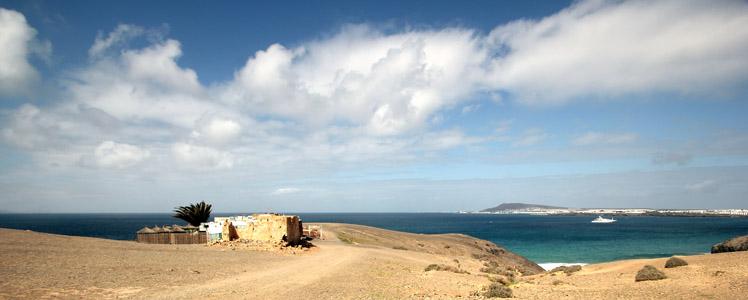 Lanzarote. Playa Blanca. Punta Papagajo.