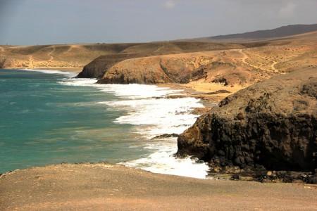 Lanzarote sud, Playa Blanca. Punta del Papagayo. Le spiagge più suggestive dell'isola.