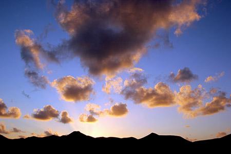 Lanzarote: tramonti.