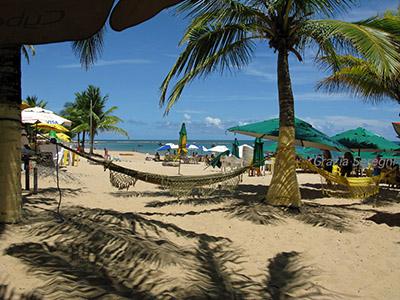 Brasile, spiaggia di Guarajuba.