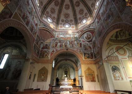 Una delle tante splendide chiese che si possono visitare partendo dalle Terme di Miradolo.