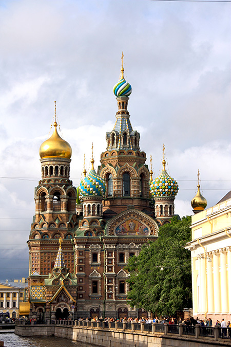 San Pietroburgo, chiesa del salvatore sul Sangue Versato.