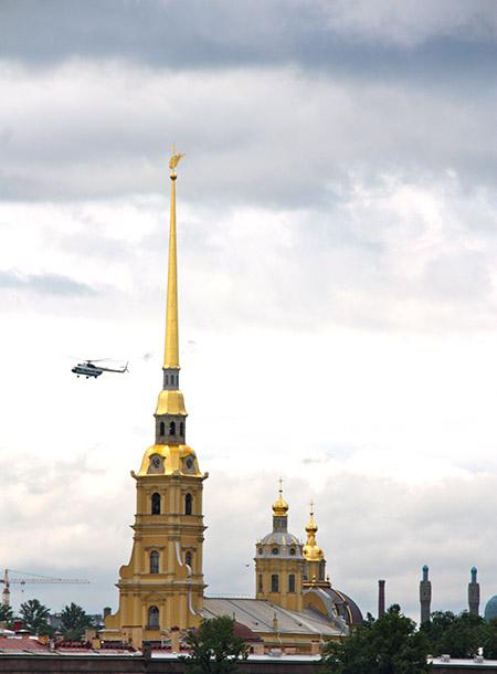 San Pietroburgo, chiesa dei SS. Pietro e Paolo.