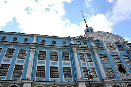 San Pietroburgo, Ermitage o Palazzo d'Inverno.
