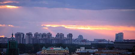 San Pietroburgo, notti bianche.