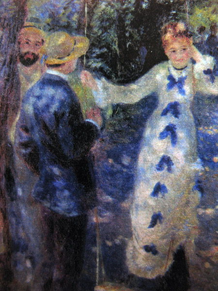 Ronoir; La Balançoire (1876) particolare